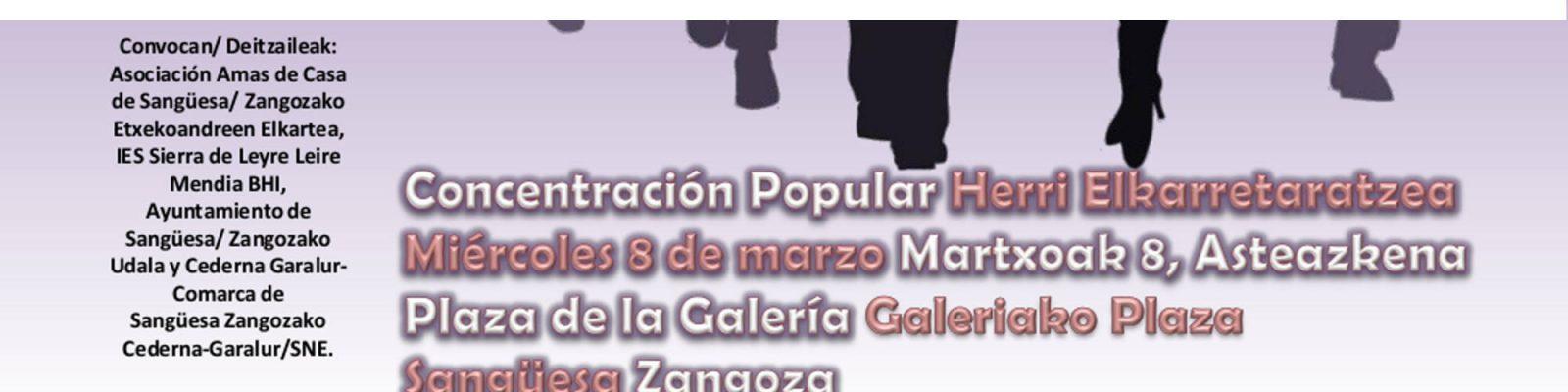 El IES Sierra de Leyre celebra el DÍA INTERNACIONAL DE LA MUJER